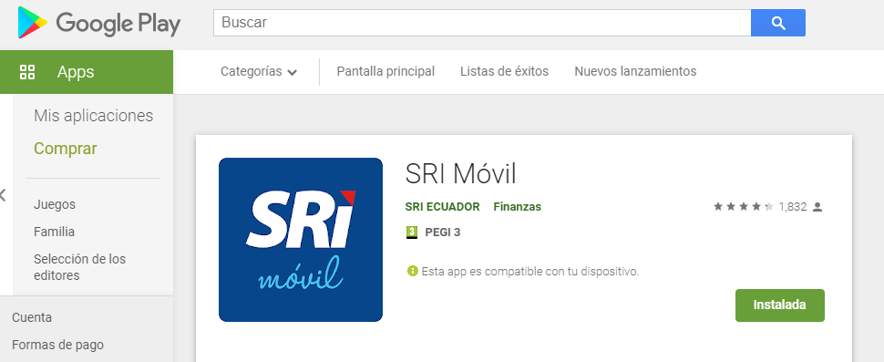 sri movil